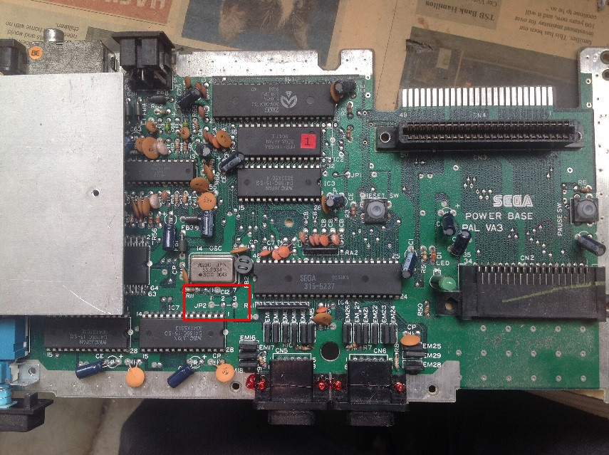 PAL VA3 motherboard